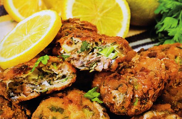 Beignets de sardines au persil et au cumin