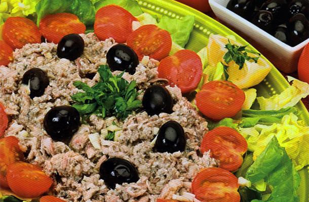 Salade de sardines à la vapeur