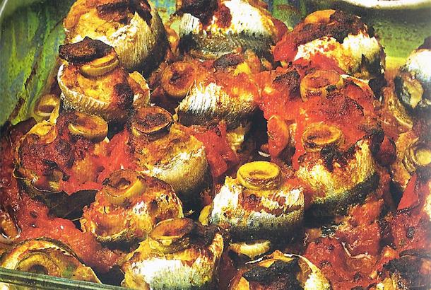 Spirales aux sardines