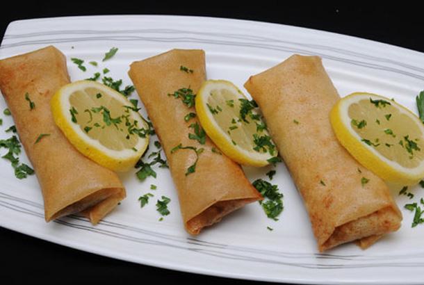 Bourek (feuilles de brick) aux pommes de terre et fromage de chèvre