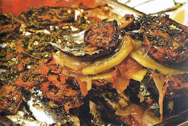 Gratin de sardines à la pomme de terre