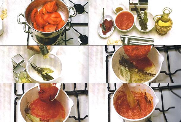 Comment préparer une sauce tomate ?