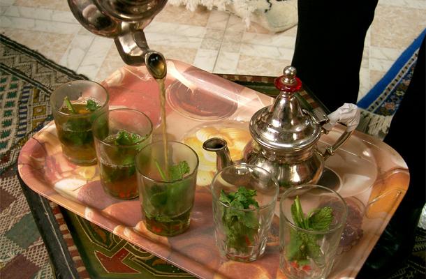 Recette du Thé vert à la menthe