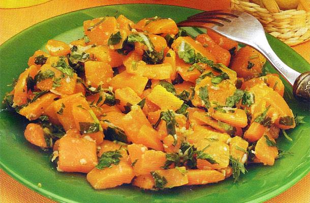 Recette de la salade de carottes mécharmela