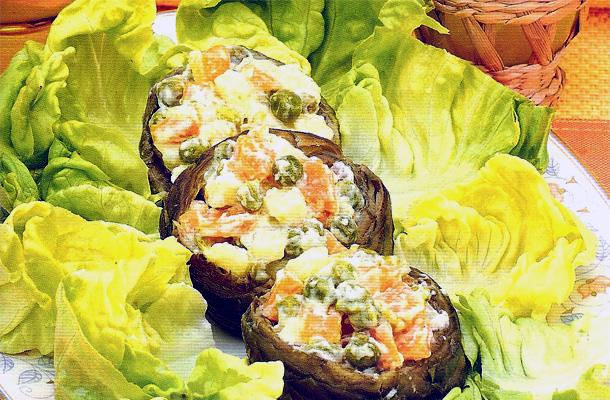 Recette de la salade d'artichauts