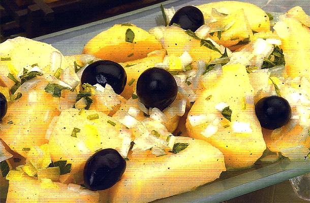 Recette de la salade de pommes de terre