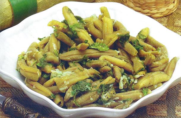 Recette de la salade d'haricots verts
