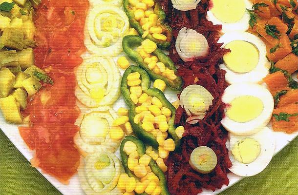 Recette de la salade variée