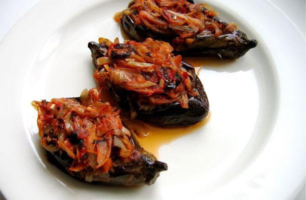 Recette aubergine farcie à la turque (imam bayildi)