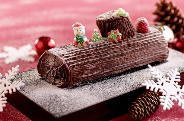 Recette de la Bûche de Noel au chocolat, facile et pas cher