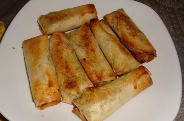 Recette de bourek à la viande hachée (feuille de brick)