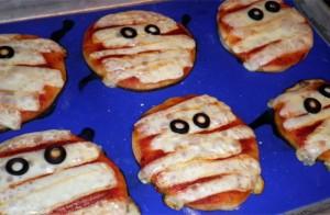 Recette de la mini Pizza spéciale halloween - Blog-recette.com