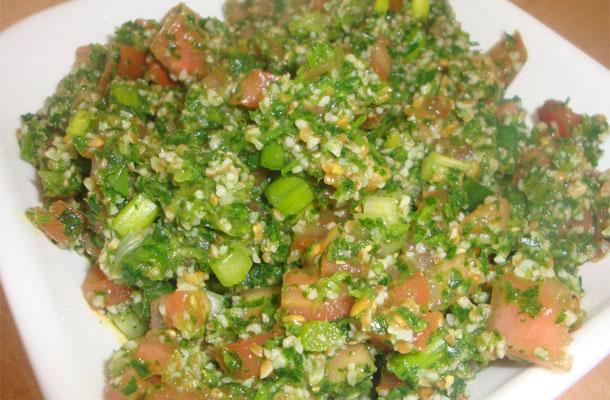 Recette du taboula, salade syrienne (taboulé)