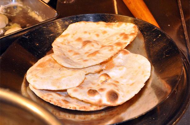 Recette du pain indien (naan)