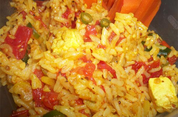 Recette du riz indien végétarien
