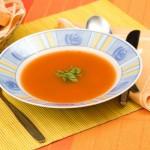 Velouté de potiron aux carottes