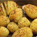 Pommes de terre rôties Hasselback potatoes façon suédoise