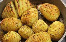 Pommes de terre rôties Hasselback