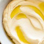 Houmous ou purée de pois chiche libanais