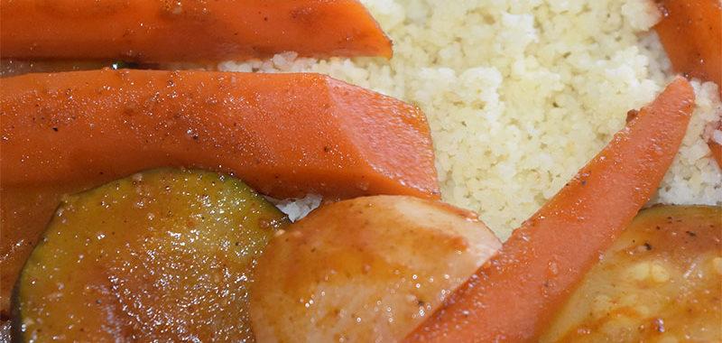 Recette du couscous algérois sauce blanche