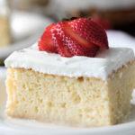 Recette du tres leches cake (gâteau aux trois laits)
