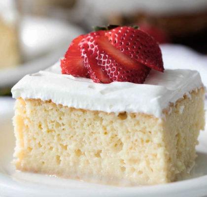 Recette du Tres Leches Cake