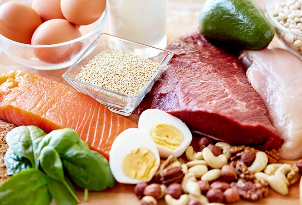 Viande, poisson et œufs