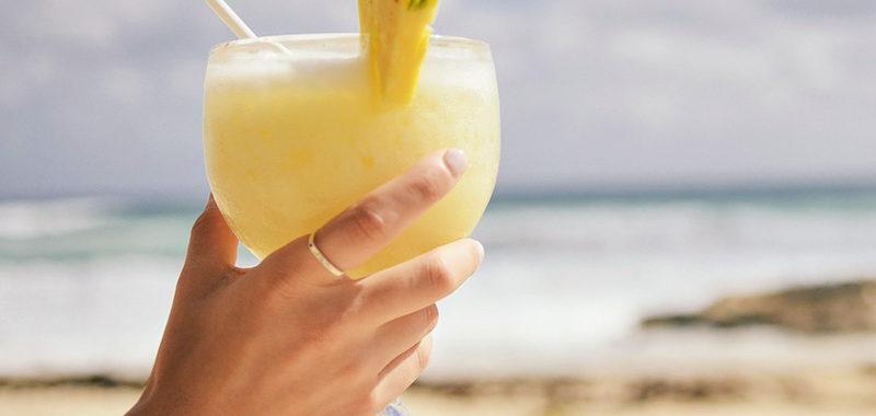 Recette de la piña colada au lait de coco et ananas